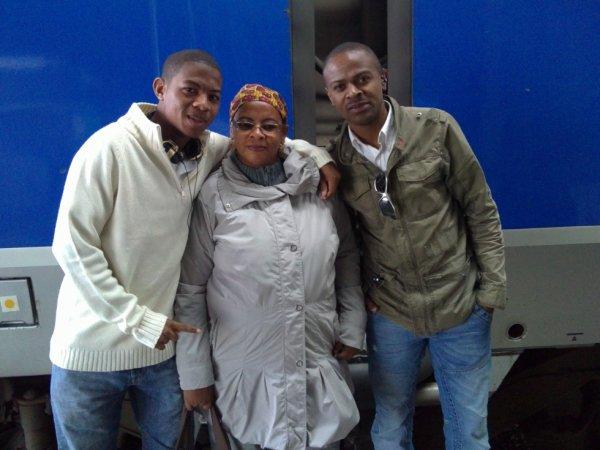Mon fils, moi et mon frère