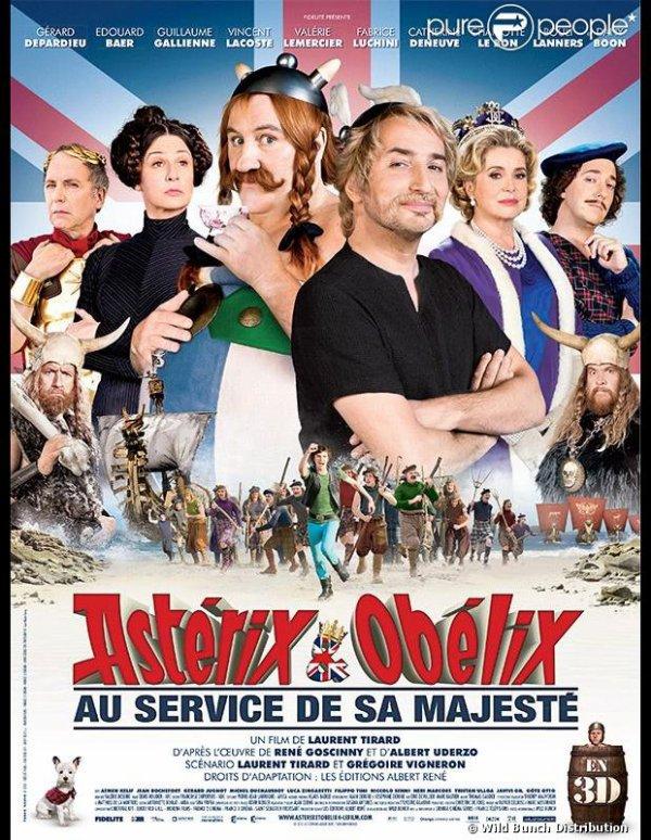 Asterix et Obelix au service de sa majesté