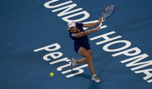 Premier vrai test face à Ana Ivanovic :6/4-6/3