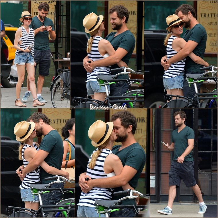 Joshua Jackson à New-York