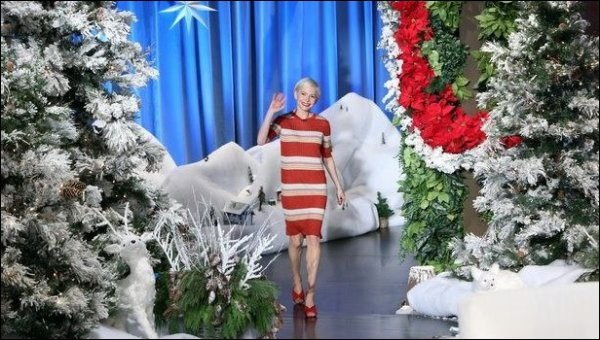 Michelle Williams chez Ellen DeGeneres