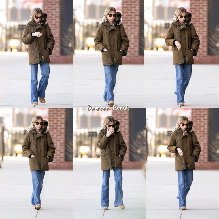 Michelle Williams a New-York