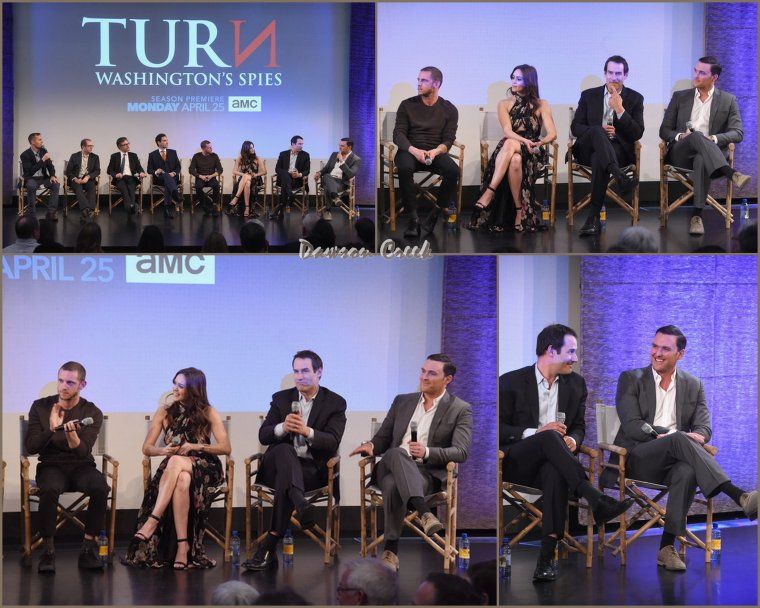 "Premiere de ""Turn : Washington Spies"""