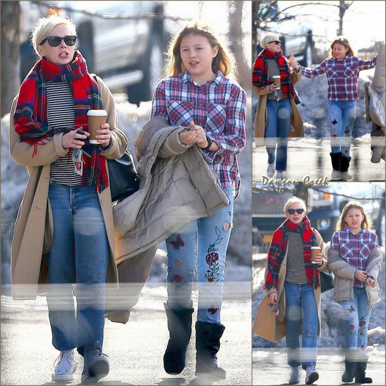 Michelle Williams à New-York