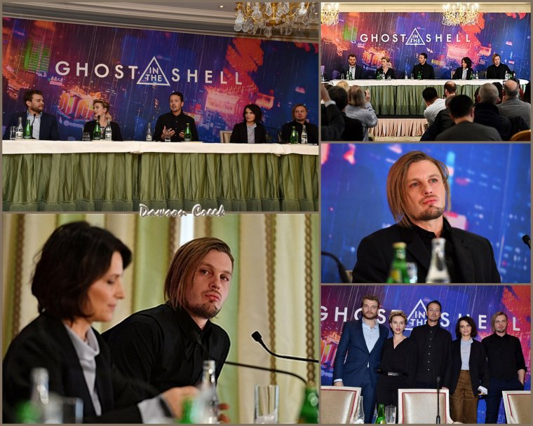 "Conférence de Presse de ""Ghost in the Shell"""