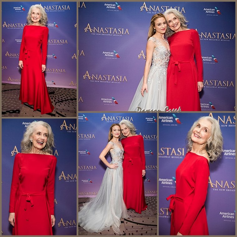 """Anastasia"" Broadway Opening Night"