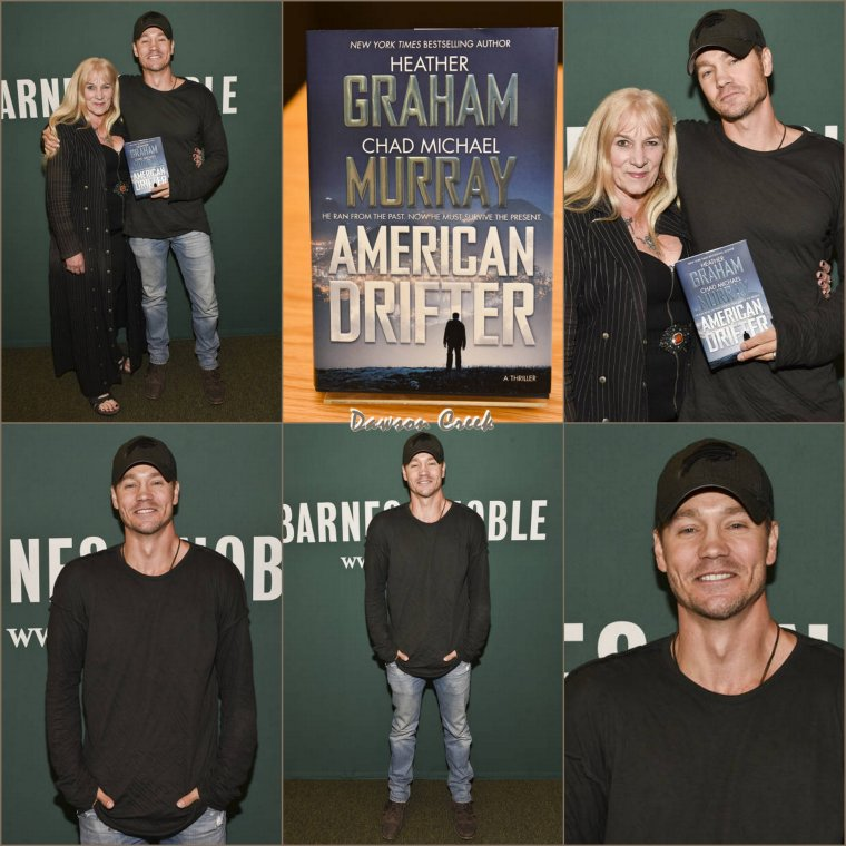 Book Signing Of 'American Drifter'