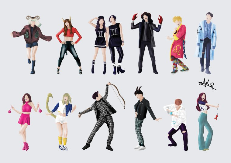 Horoscope KPOP.