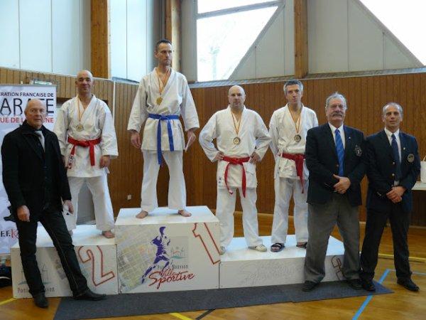 championnat de lorraine karaté  2012