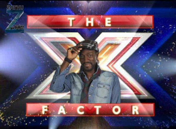 Marco Prince pour présenter X Factor sur M6 ( zathu )
