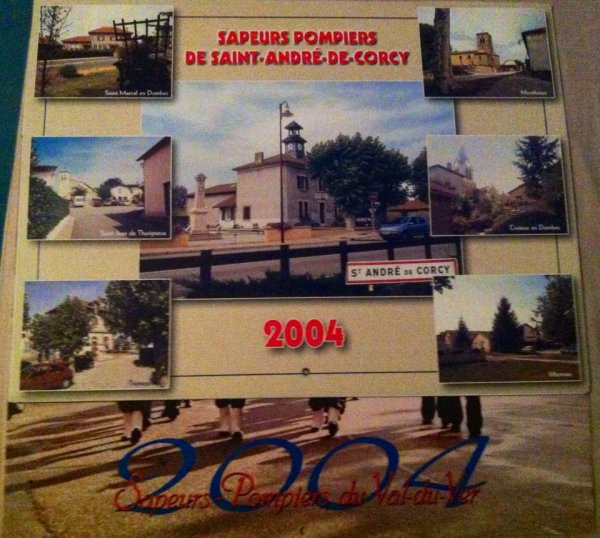 Calendriers 2004