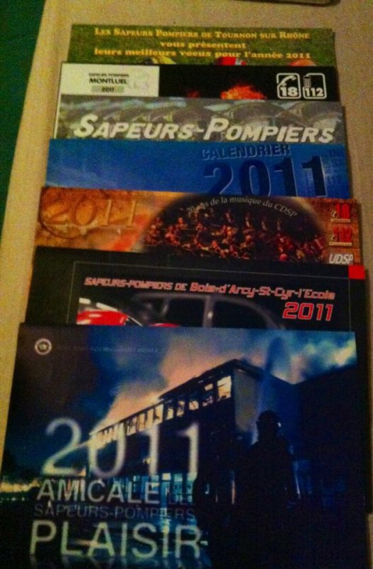 Calendriers 2011