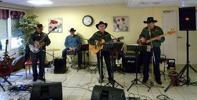 Concerts dans des maisons de retraite