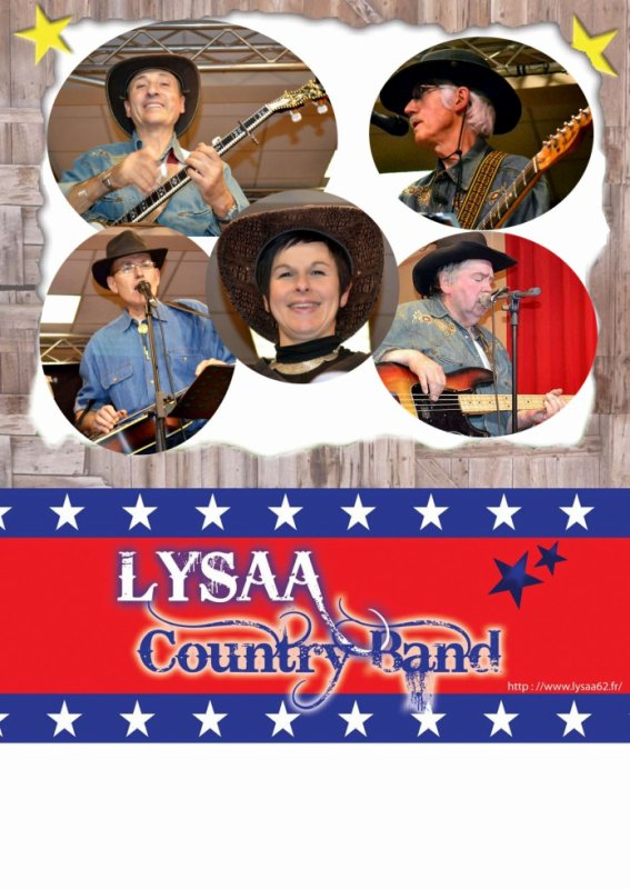 Nouvelle affiche du Lysaa Country Band