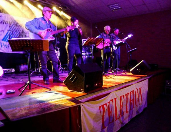 Lysaa au téléthon de Savy-Berlette le 7 décembre
