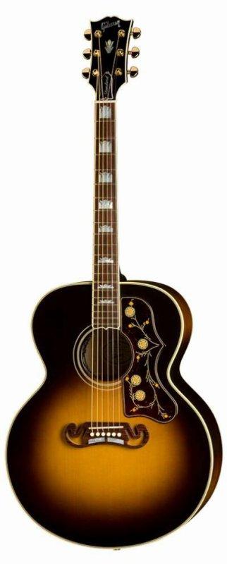 Guitare américaine : Gibson J200