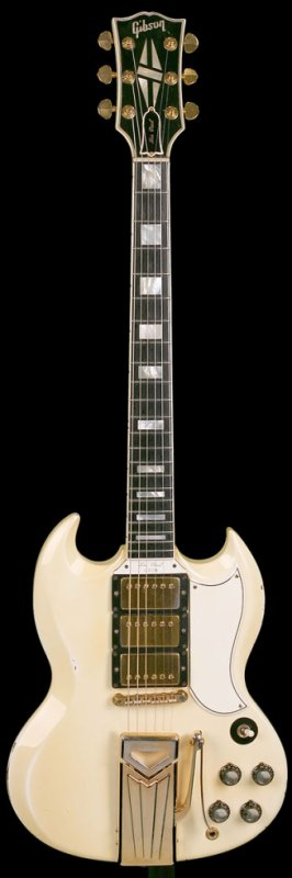 Guitare de collection : Gibson Les Paul Custom SG Shape de 1961
