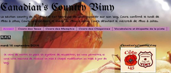 Blog Country de Vimy