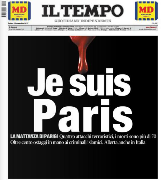 J'étais Charlie, je suis Paris.