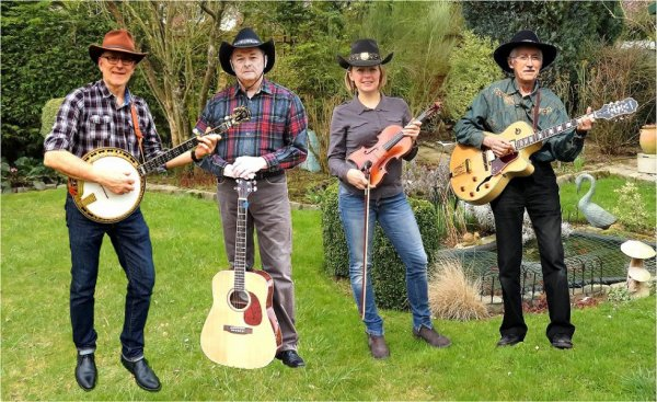 Le Lysaa Country Band au printemps 2018