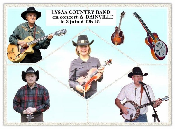 Concert du Lysaa Country Band