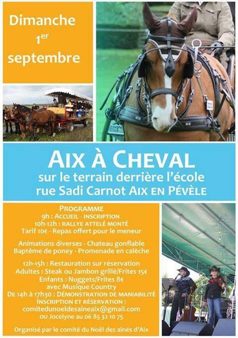Le Lysaa Country Band à Aix-en-Pévèle le dimanche 1er septembre