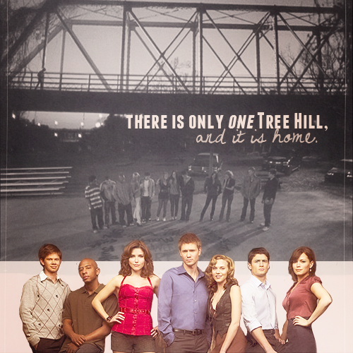 (article à part )#-Goodbye One Tree Hill : 9 saisons , 187 épisodes , 40 minutes ... ♥