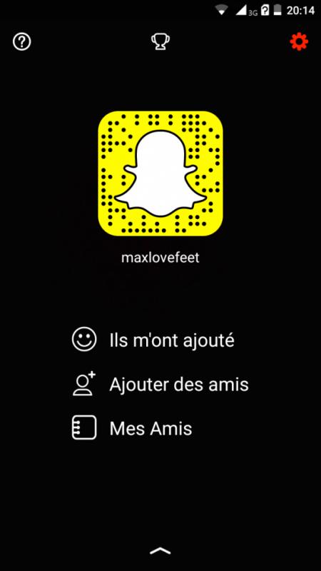 Mon Snapchat ^^
