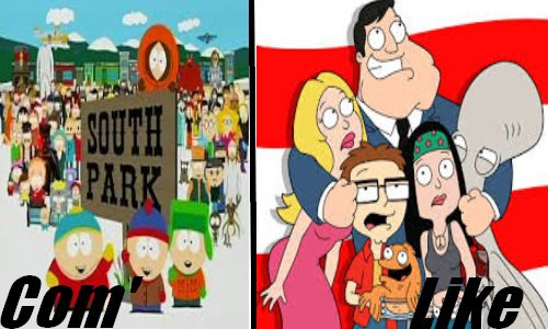 South Park VS American Dad
