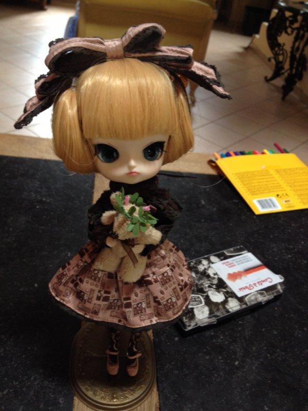 Je vous présente Fleur, une dal innocent world makupé par mes soins! ?