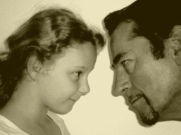 pauline et son papa