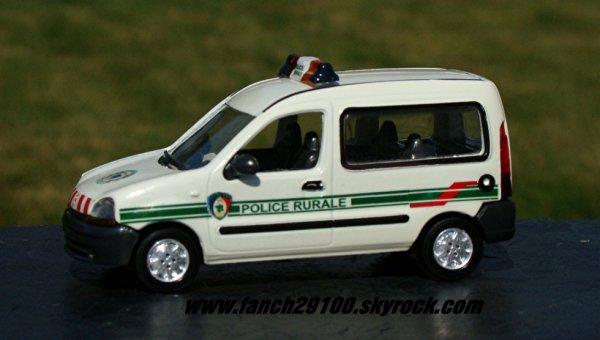 POLICE RURALE RENAULT KANGOO 1:43 ème GARDE CHAMPÊTRE