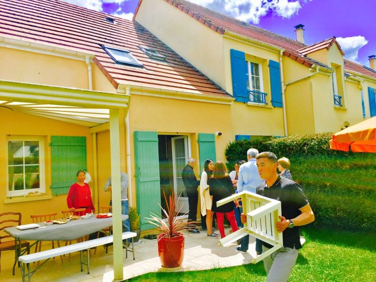 Barbecue... soleil ☀️ et ombre ????
