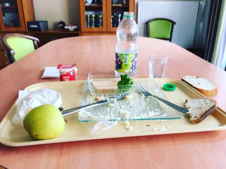 En pause déjeuner