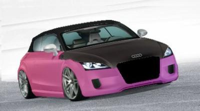 audi a1 modif 3 virtual tuning. Black Bedroom Furniture Sets. Home Design Ideas