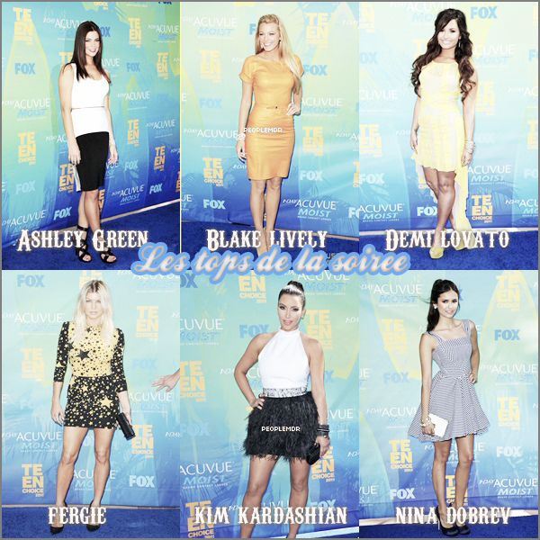 Teen Choice award 2011 ~ Los Angeles ♥