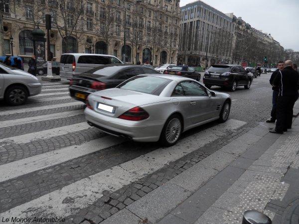 Mercedes SL 55 AMG