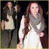 Miley est allée dîner hier soir (3 mars) à New York avec sa s½ur Brandi.