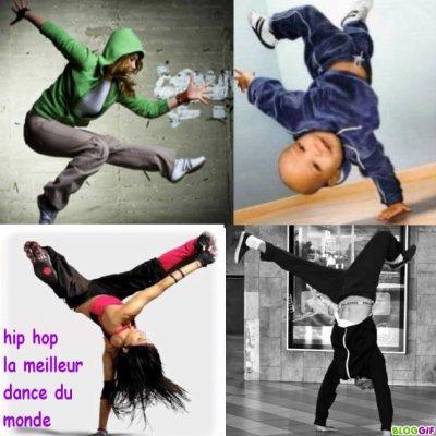 Hip Hop ma danse,ma vie.