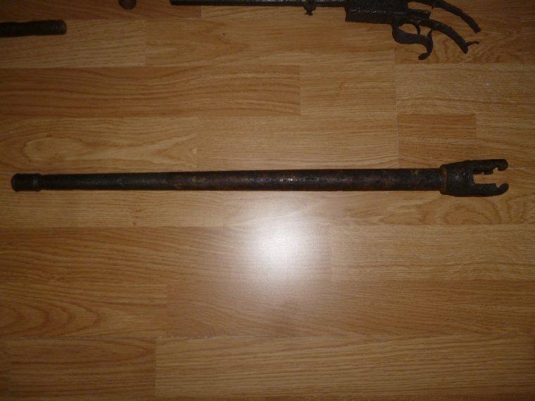canon de mg42 nettoyé