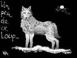 Un peu de ce loup..