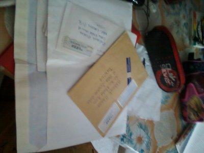 mes lettres :') mes chères lettres <3