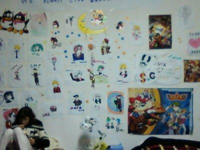 Mon dessin et ma chambre