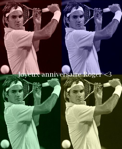 Happy Birthday Dear Roger ♥