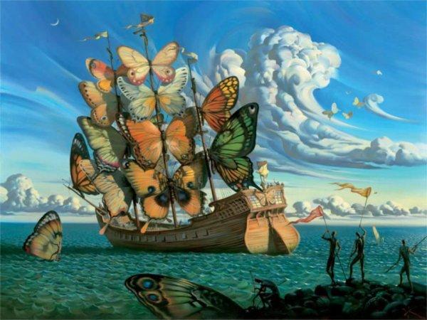 رحيل الفراشات