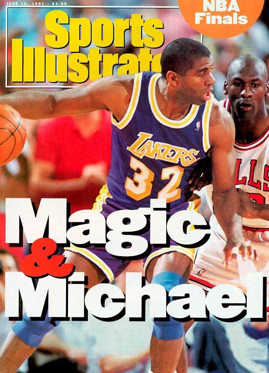 Michael Jordan reprend le flambeau de Magic Johnson