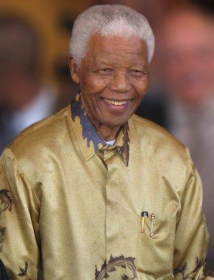 Nelson Mandela reçoit le prix Nobel de la paix