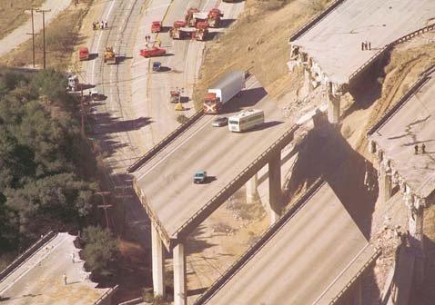 Un tremblement de terre à Los Angeles.