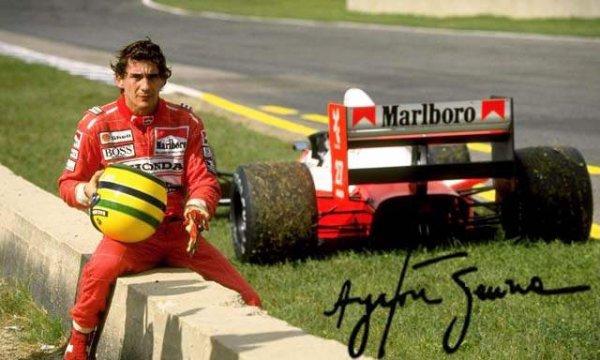 Ayrton Senna décédé le 1er mai 1994.