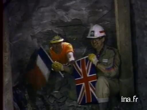 inauguration tunnel de la manche